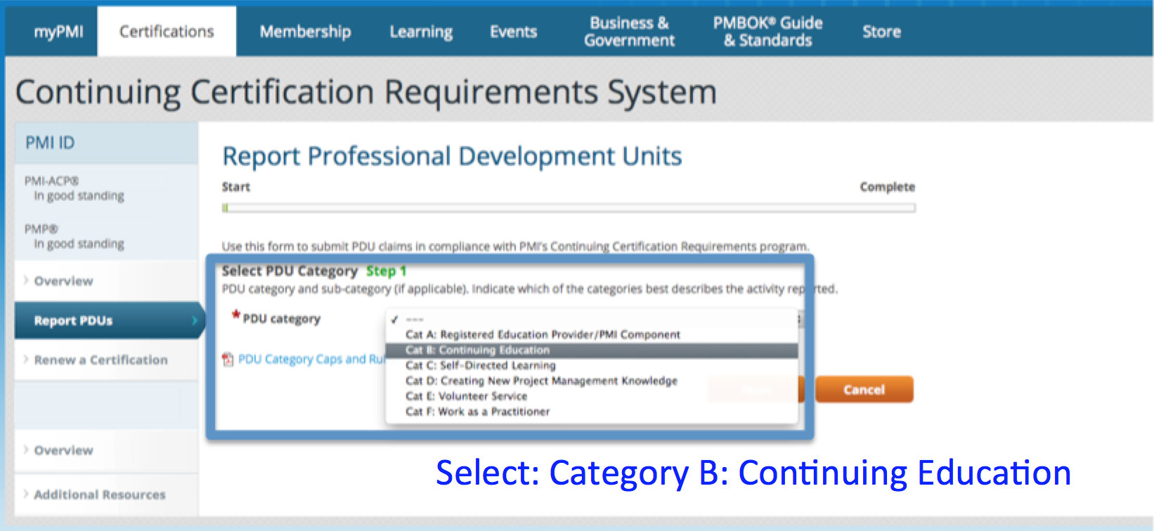 How to Claim PMI PDUs Part 1